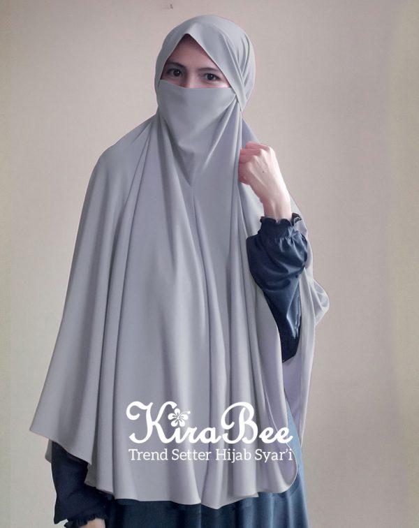 jilbab instan masker